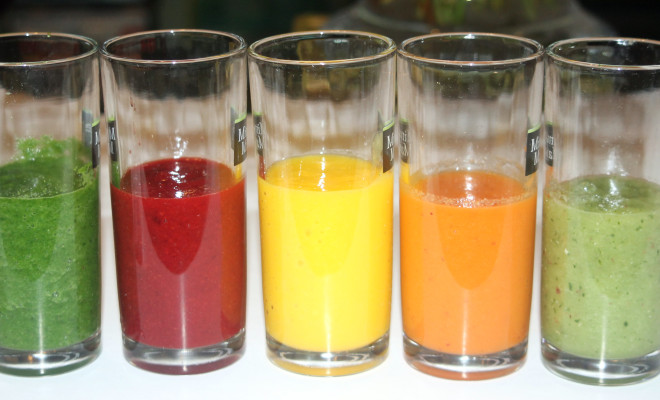 How to Make- The Rainbow Smoothies by Anita Gaitho-on Kamdora.com- Kamdora 2