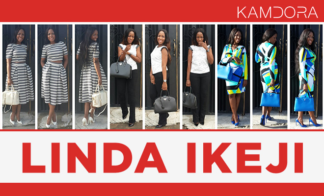 Celebrity Style Icon Nigerian Blogger Linda Ikeji-on Kmadora.com-Kamdora