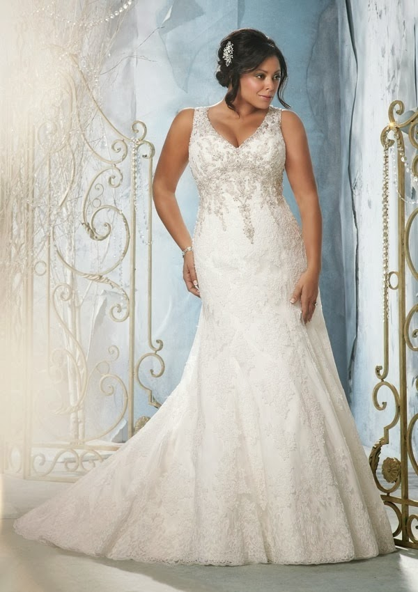 Curvy bride how to find the perfect wedding dress for you for Best wedding dress styles for plus size brides