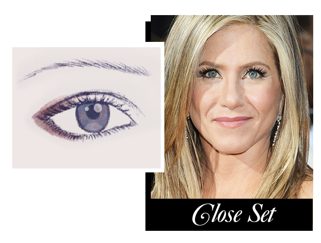 how to pluck eyebrows to make eyes look further apart