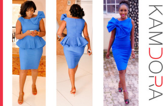 Celebrity Who Wore It Best: The Big Bow Dress: omotola or kome