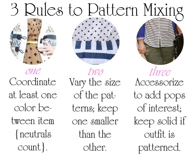 Three rules to pattern mixing how to mix patterns in outfits