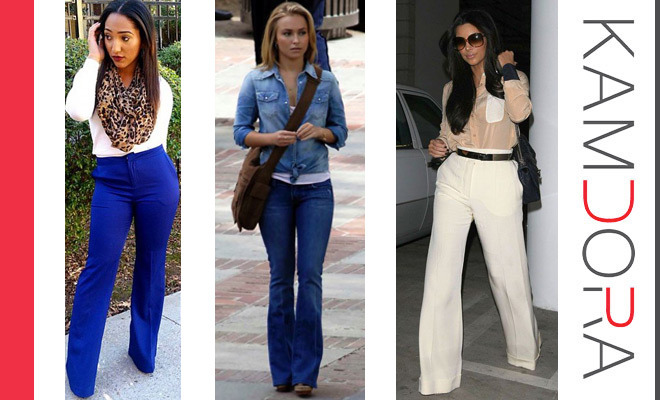 Trendy Now The Boot-Cut Pants