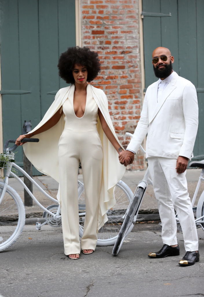 Solange Knowles And Fiance Alan Ferguson Leave The French Quarter On ...