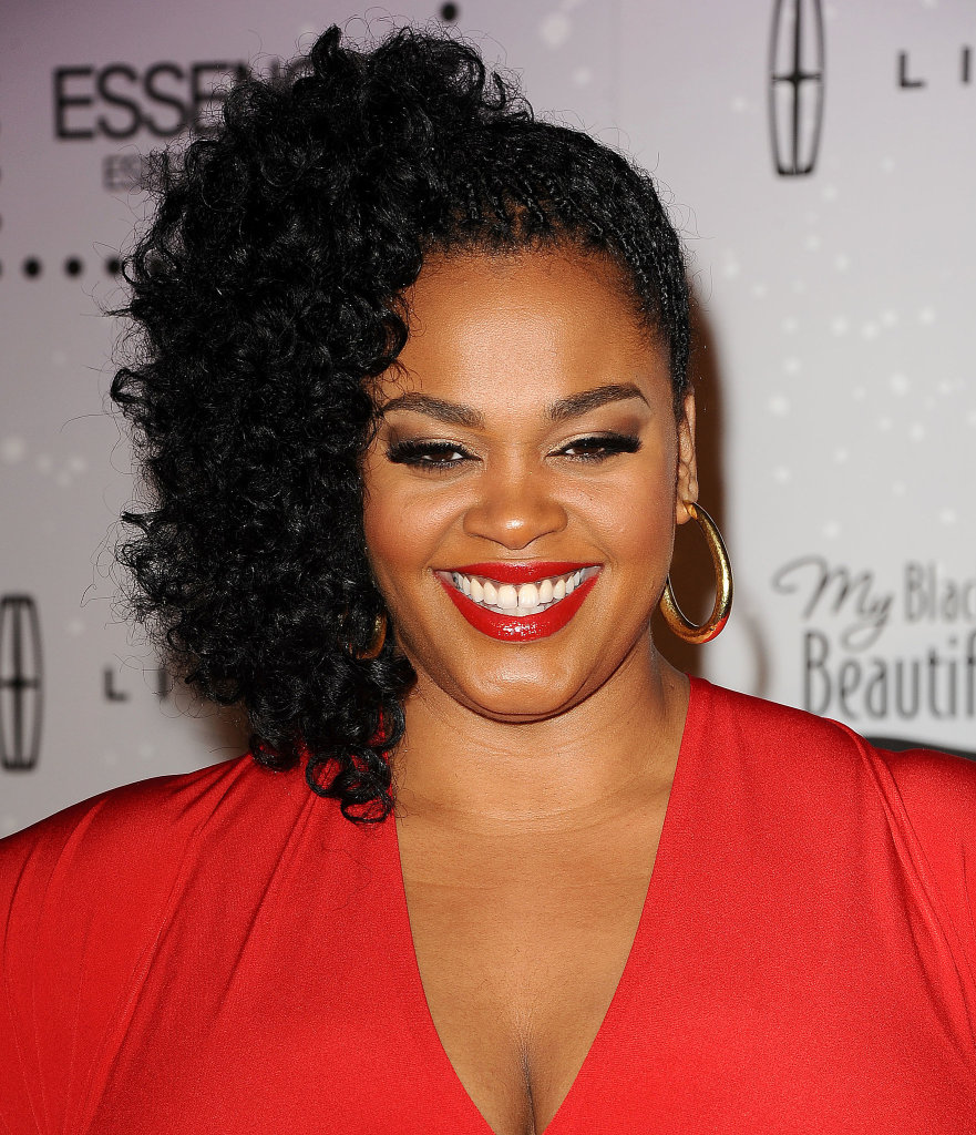 Hairstyles for big women -  Style 4 Jill Scott