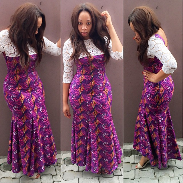 New Lovely Exclusive Ankara Grand Styles Fashion 14 Fashion Nigeria
