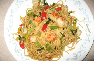 Lobster-noodles
