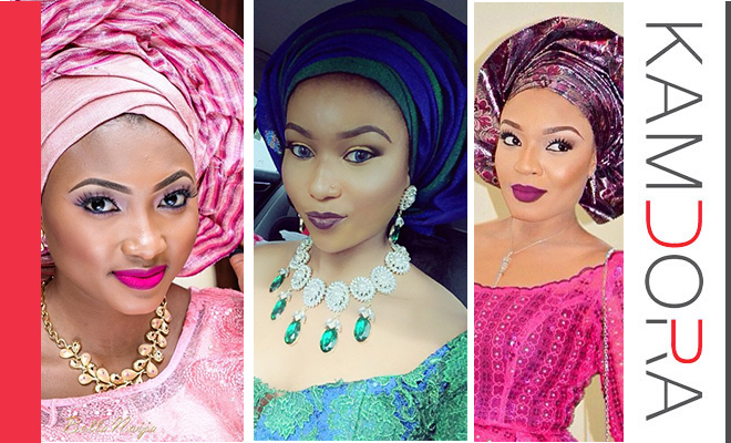 Makeup And The Gele