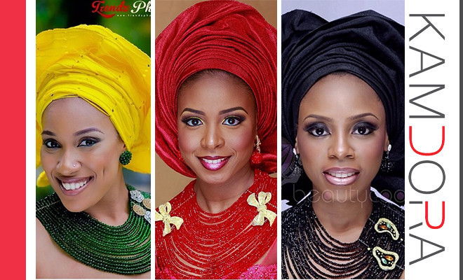Makeup and the gele #3
