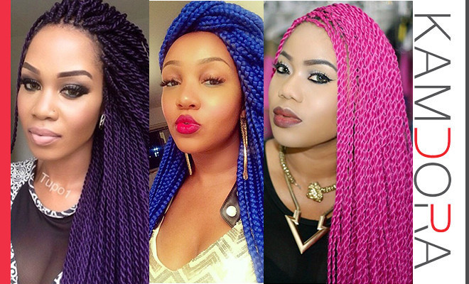 Trend Alert Coloured Braids
