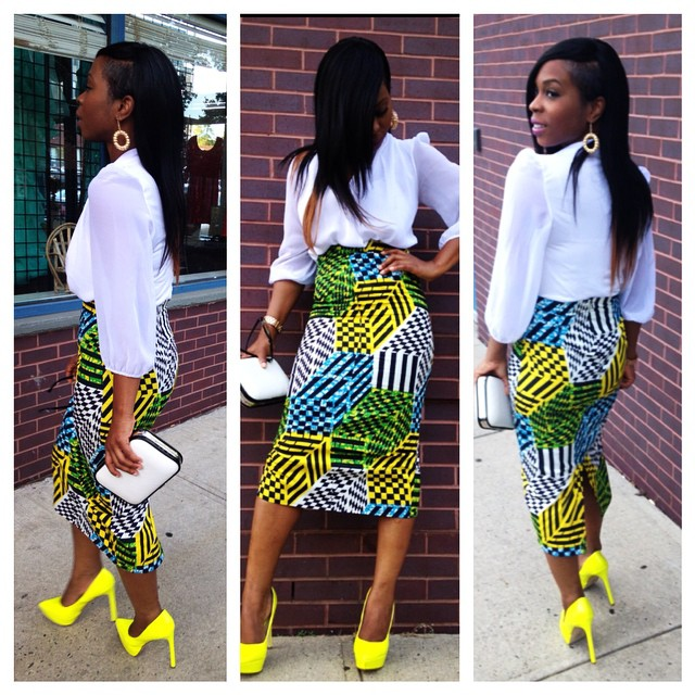 Image result for office ankara lookbook