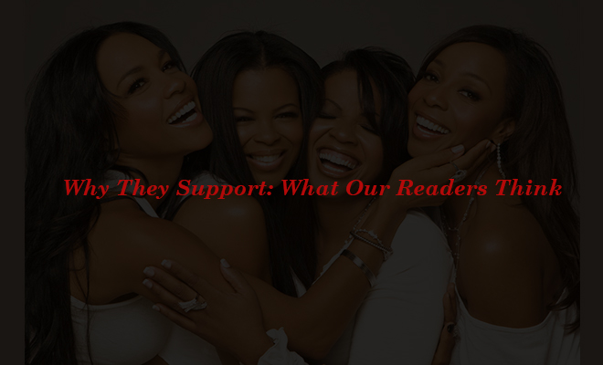 Why They Support What Our Readers Think