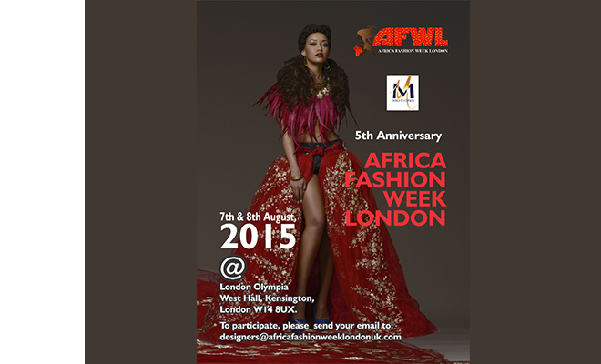 Africa Fashion Week London 2015 (5th Edition)
