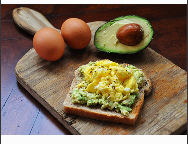 Easy Egg and Avocado Sandwich for a Sunday Morning - Kamdora