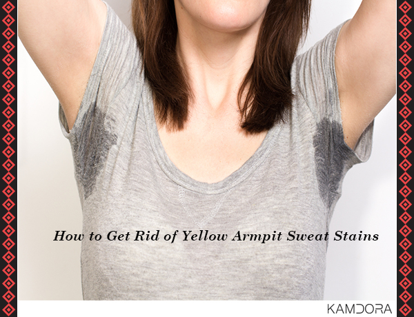 How To Get Rid Of Yellow Armpit Sweat Stains Kamdora Blog