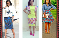 Plain Clothing + Ankara = Sophisticated Work Look!