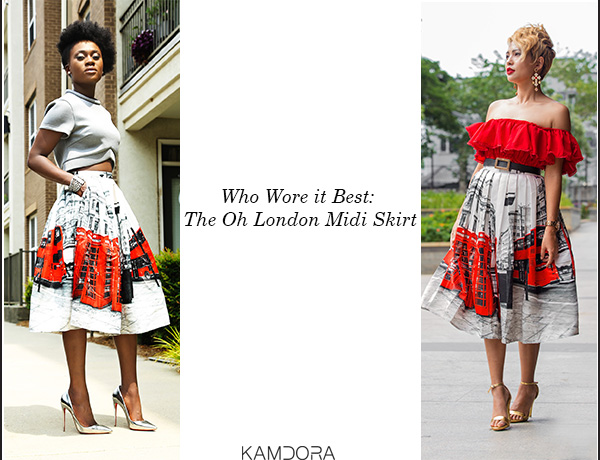 WWIB: The Oh! London Pleated Midi Skirt | Kamdora