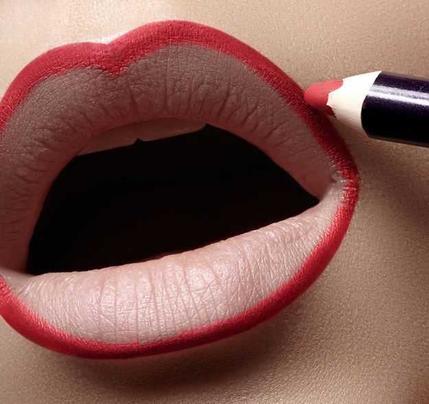 Image result for line the lips
