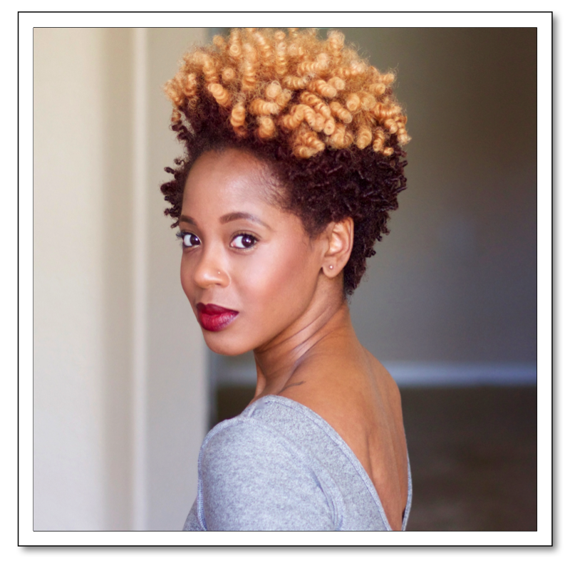 Fantastic Hairstyle Of The Week Straw Curls Styling Tips Kamdora Short Hairstyles For Black Women Fulllsitofus