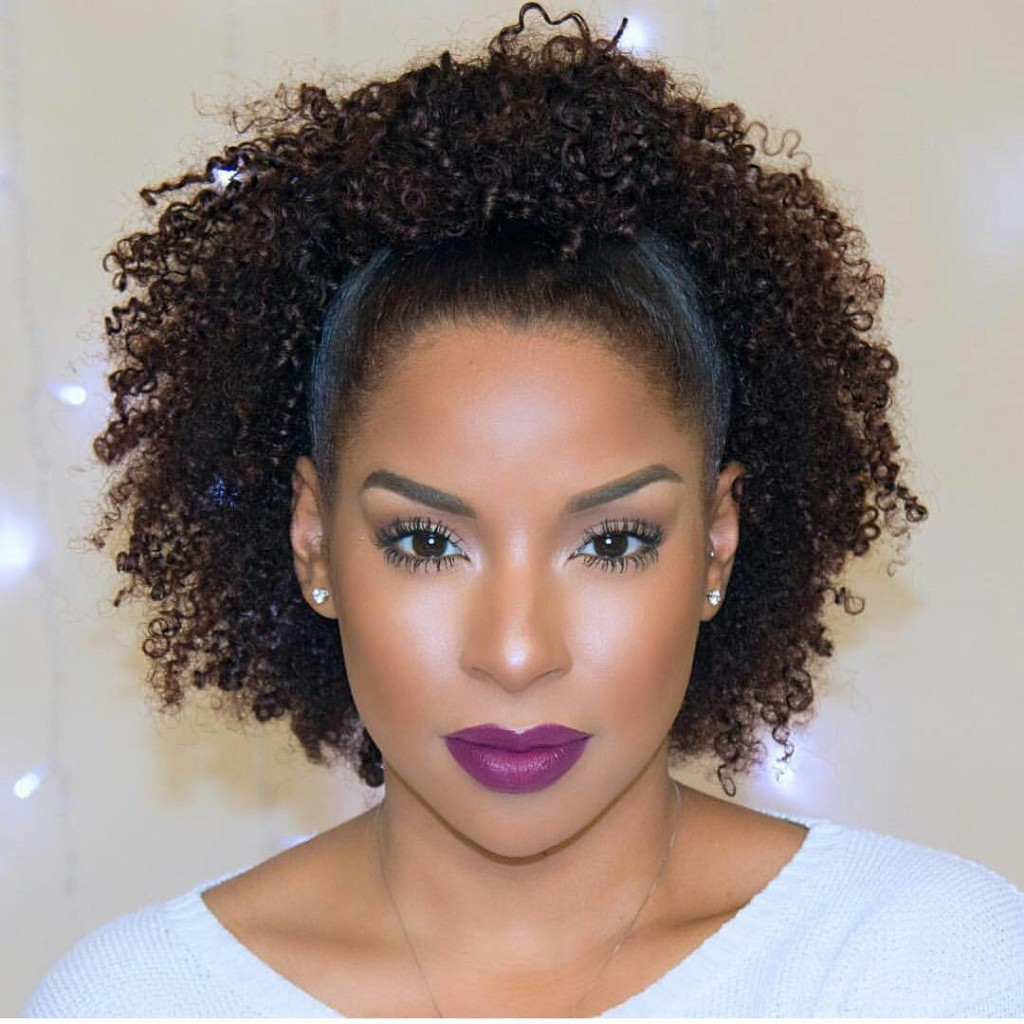 ways to style curly hair 3 fab ways to rock your lipstick kamdora 2798