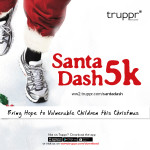 A Season Of Giving, The Santa Dash 5k Hosted by Truppr