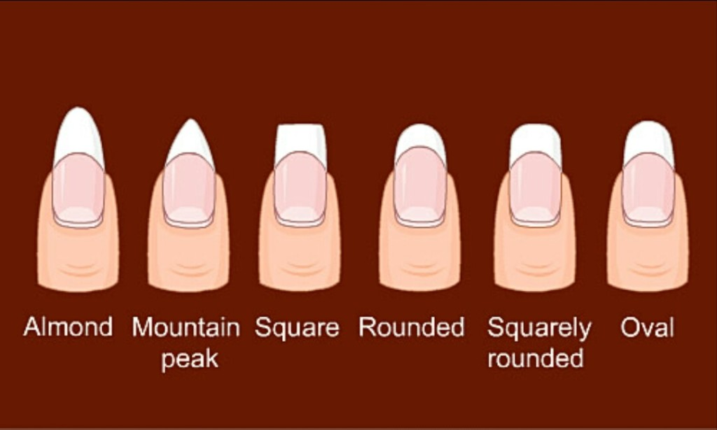 Diffe Ways To Shape Your Nails