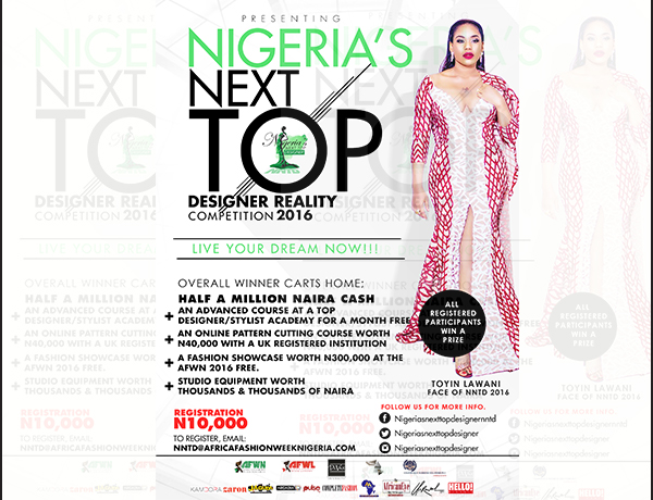 Season #2 Nigeria's Next Top Designer Reality Tv Competition