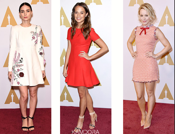 What Our Celebrities Wore Oscars Luncheon