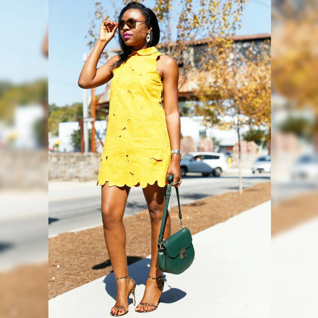 Look 1: Titilola Sogunro (@titispassion)