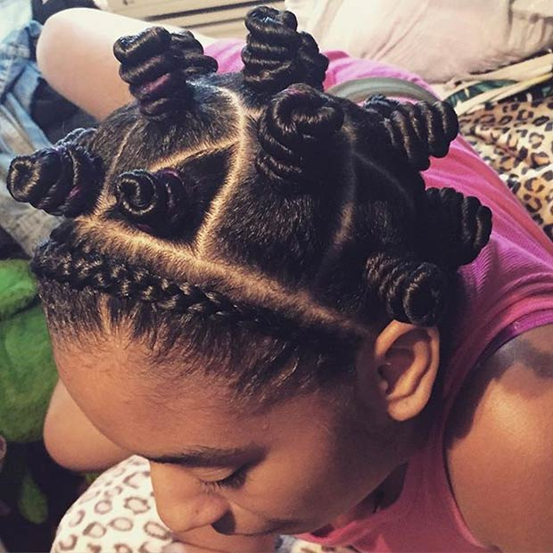 hair knot styles hairstyle of the week bantu knots kamdora 1966