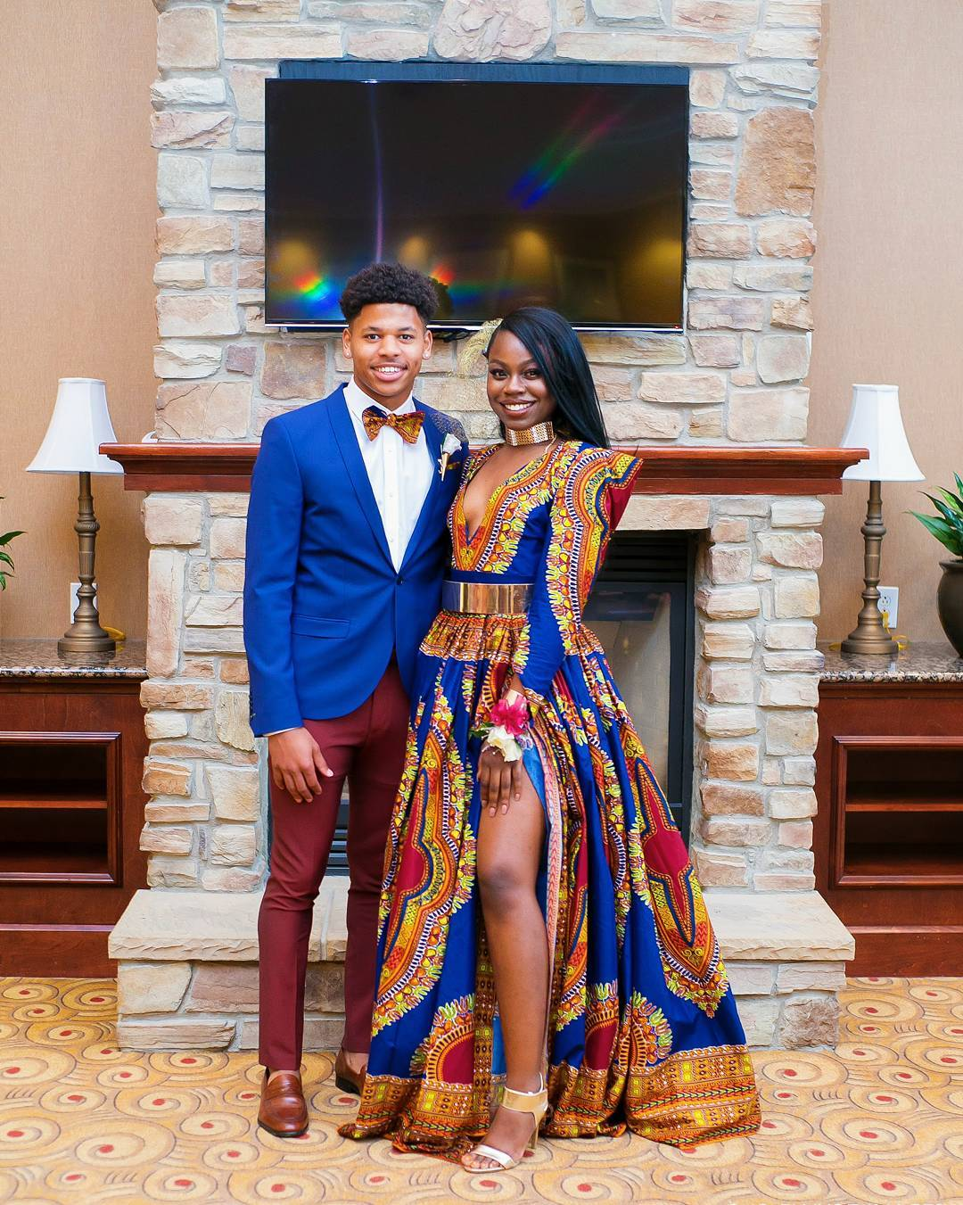 Ankara Styles 109 Dashiki For Prom Kamdora