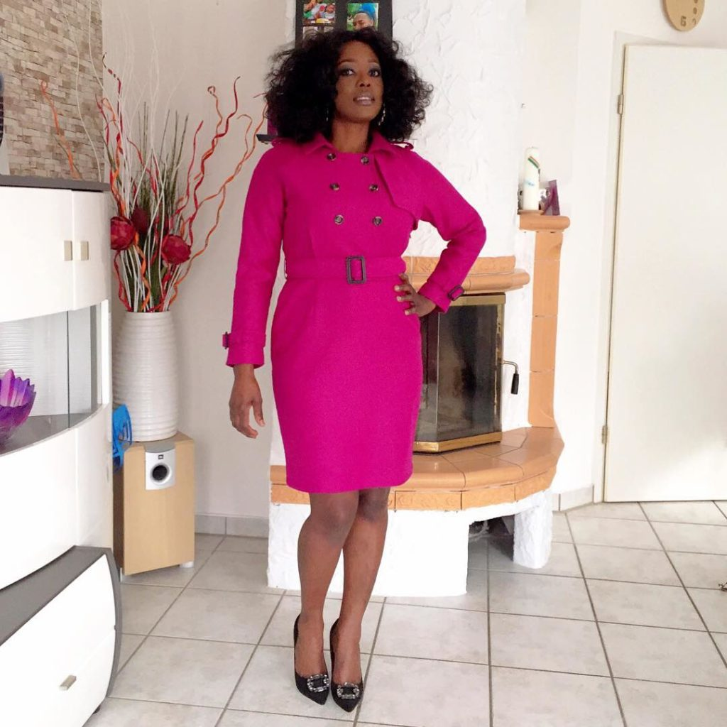 Look 3: I love this pink stylish dress on @lumis80!