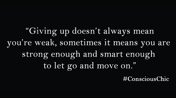 know when to let go 6