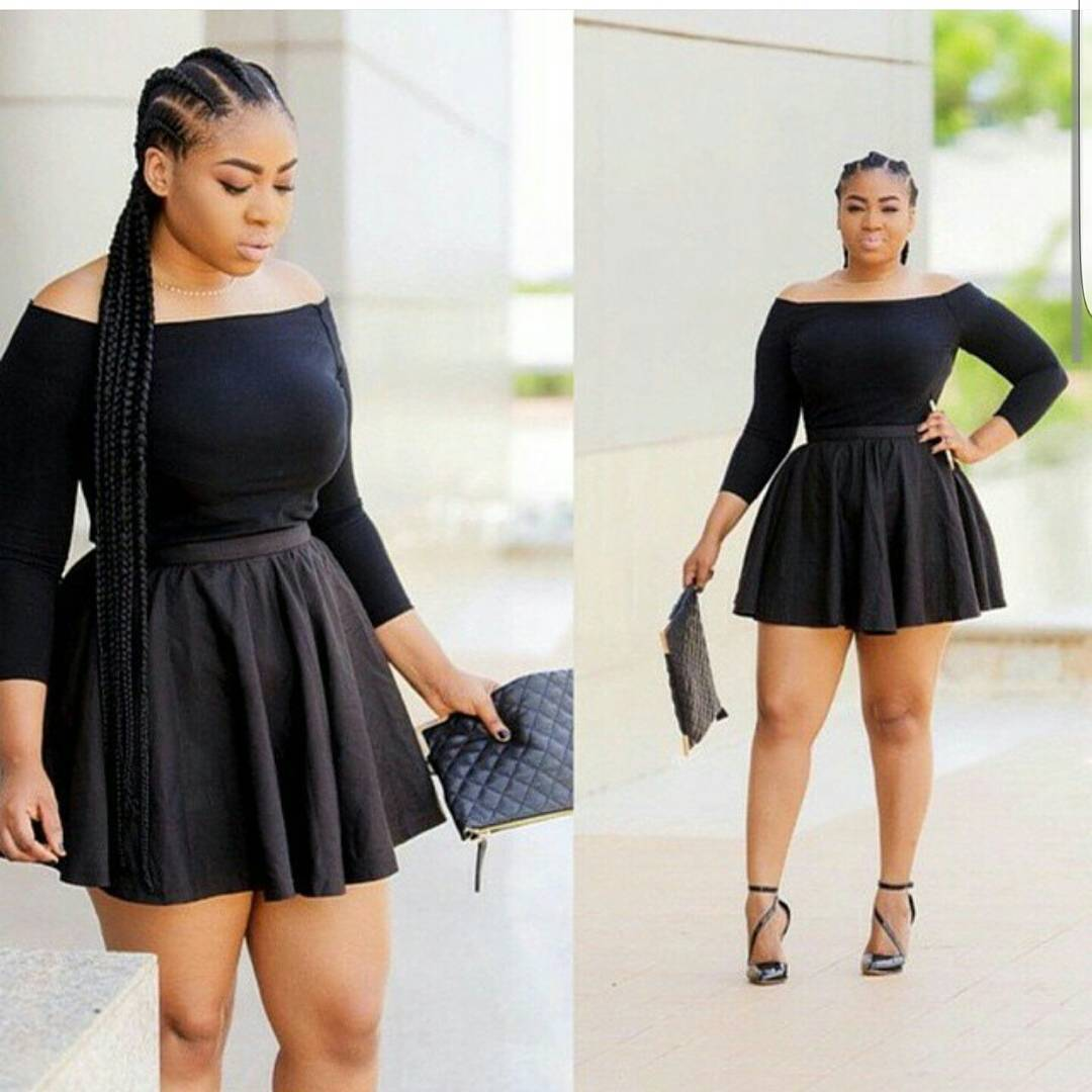 Check Out These Hot Casual Outfits For Curvy Ladies! | Kamdora