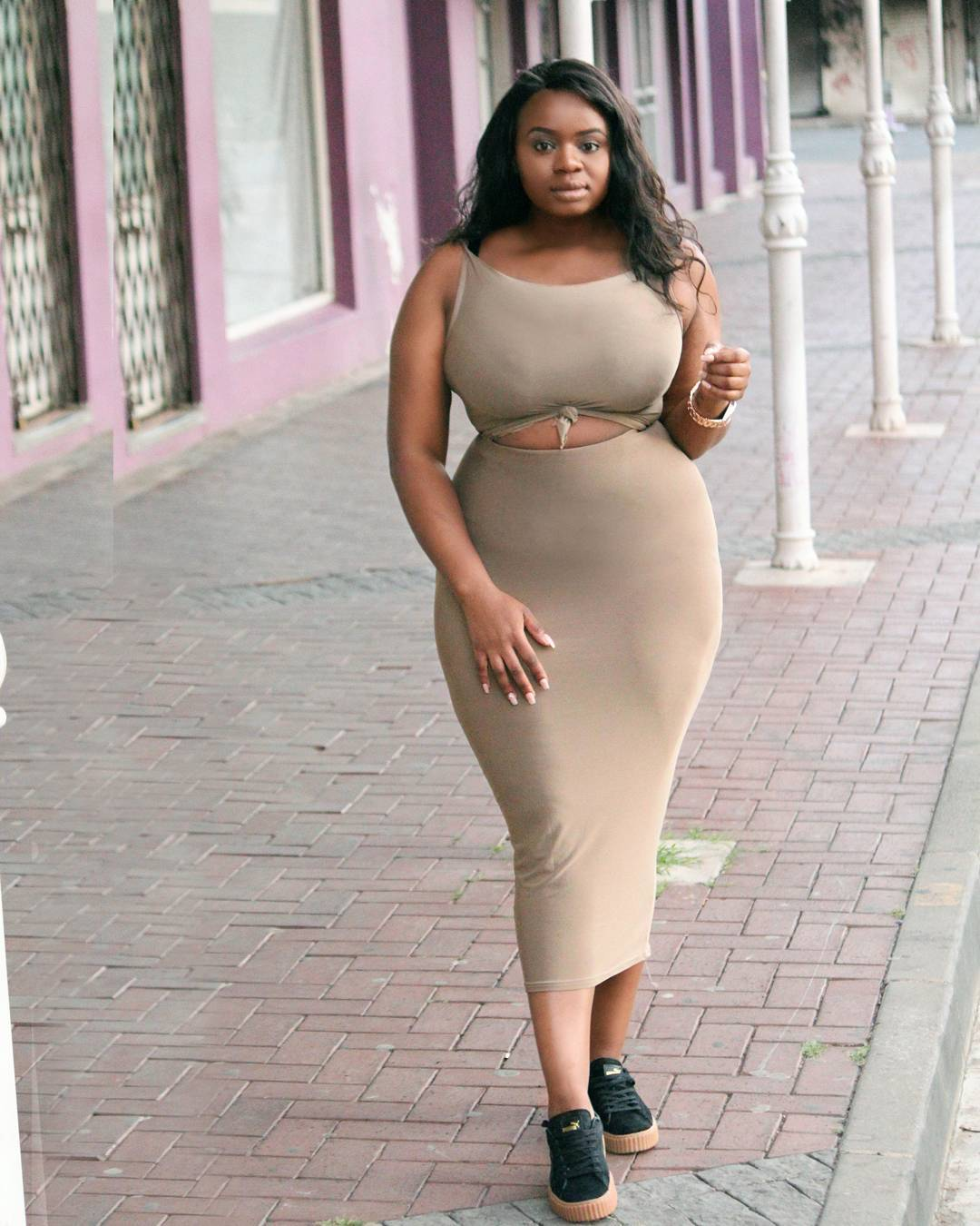 Check Out These Hot Casual Outfits For Curvy Ladies! - Kamdora Blog