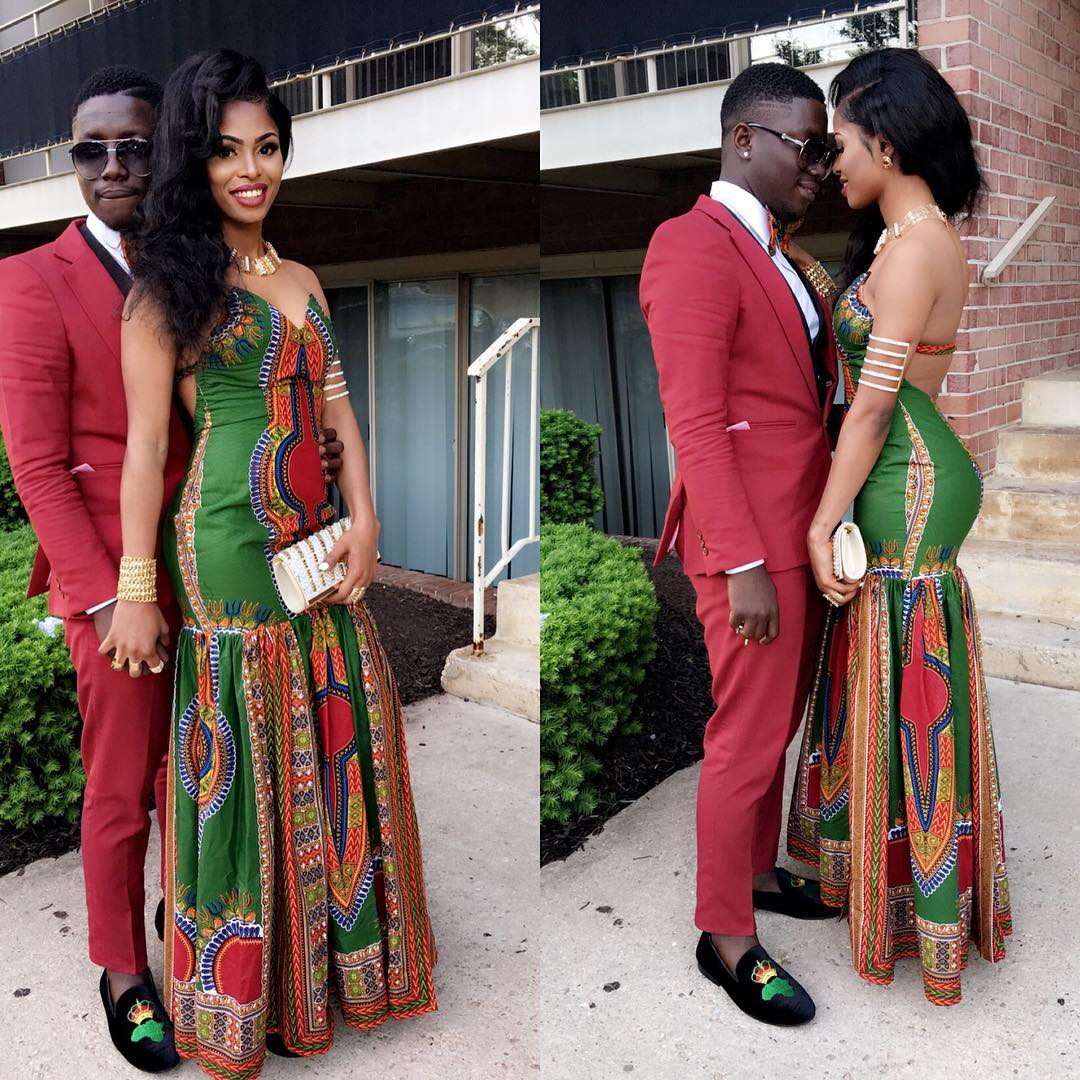 Check out some beautiful Dashiki styles for Prom ...
