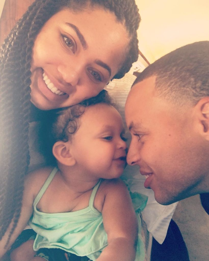 stephen and ayesha curry u0026 39 s daughter  ryan is 1  see photos from their celebration