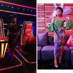 Waje and Stephanie Coker Looked Gorg at Last Night's The Voice Nigeria Show! (Photos)
