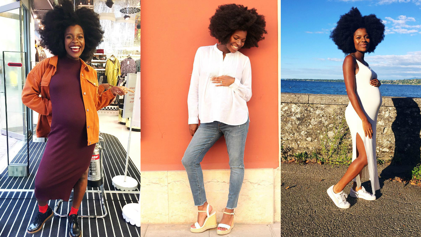 Frederique Harrel Owns Her Maternity Style