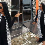 LOTD: Birthday Girl Mocheddah Stepped Out In Monochrome