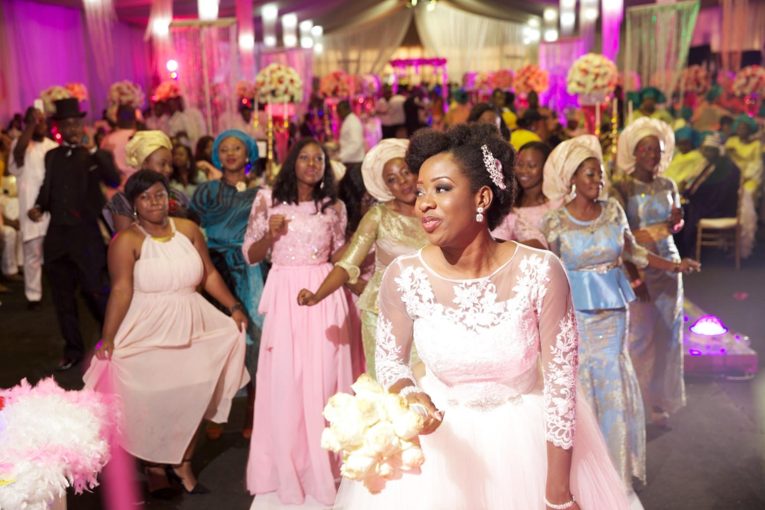 Wedding guest outfits youll love to rock to a nigerian wedding how to decide who comes to your nigerian wedding in less than one minute ombrellifo Choice Image