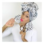 See Five Ways To Tie Your Ankara Head Wrap For Events!