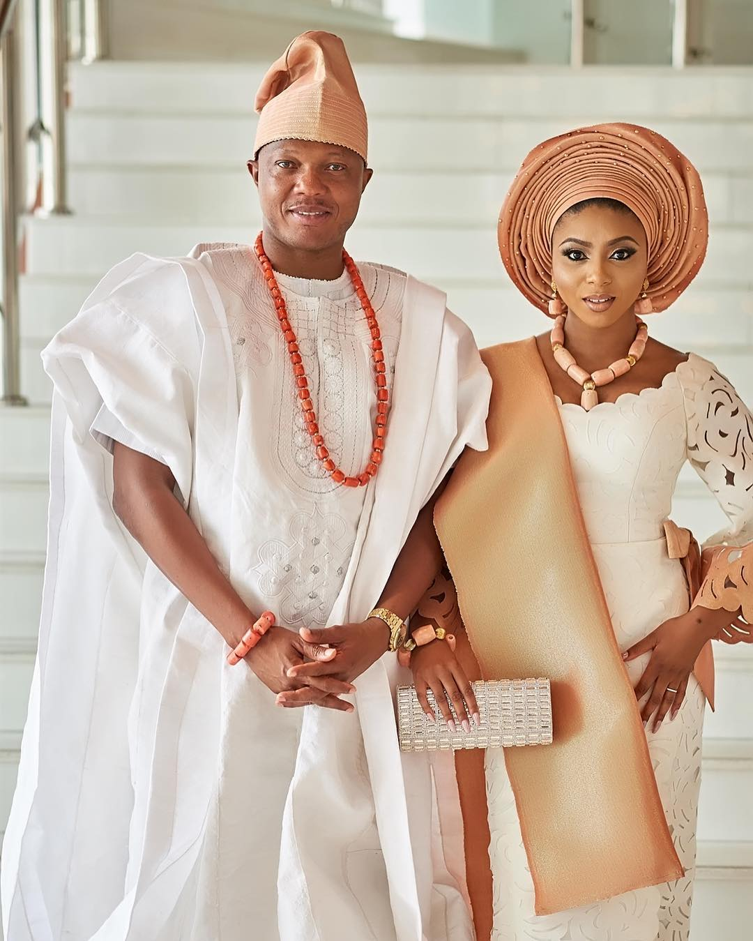 stephanie coker's big traditional wedding