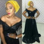 Asoebi Styles: Black Is Always A Good Idea For A Wedding Guest Outfit!