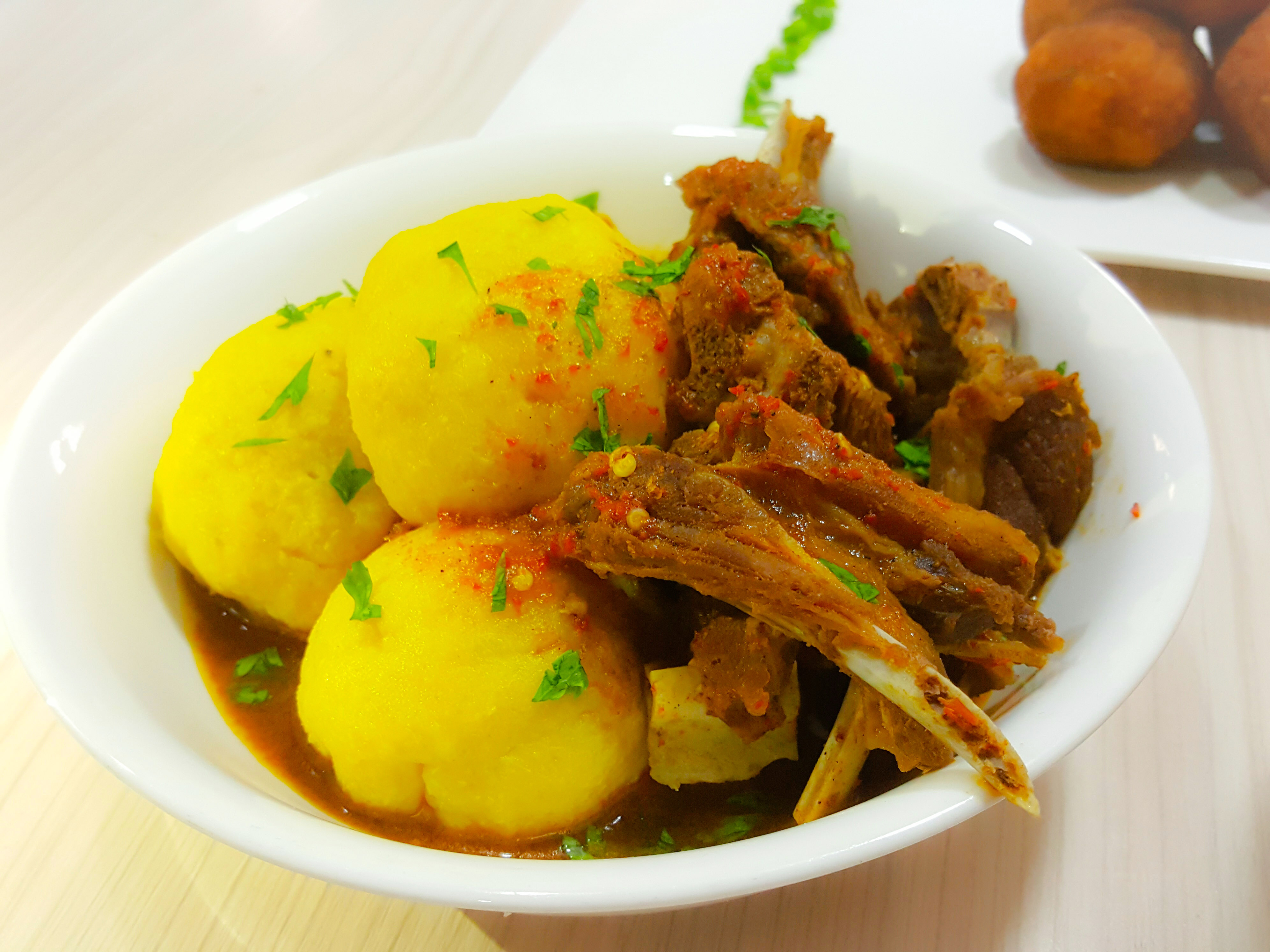 Image result for Onunu and fish stew