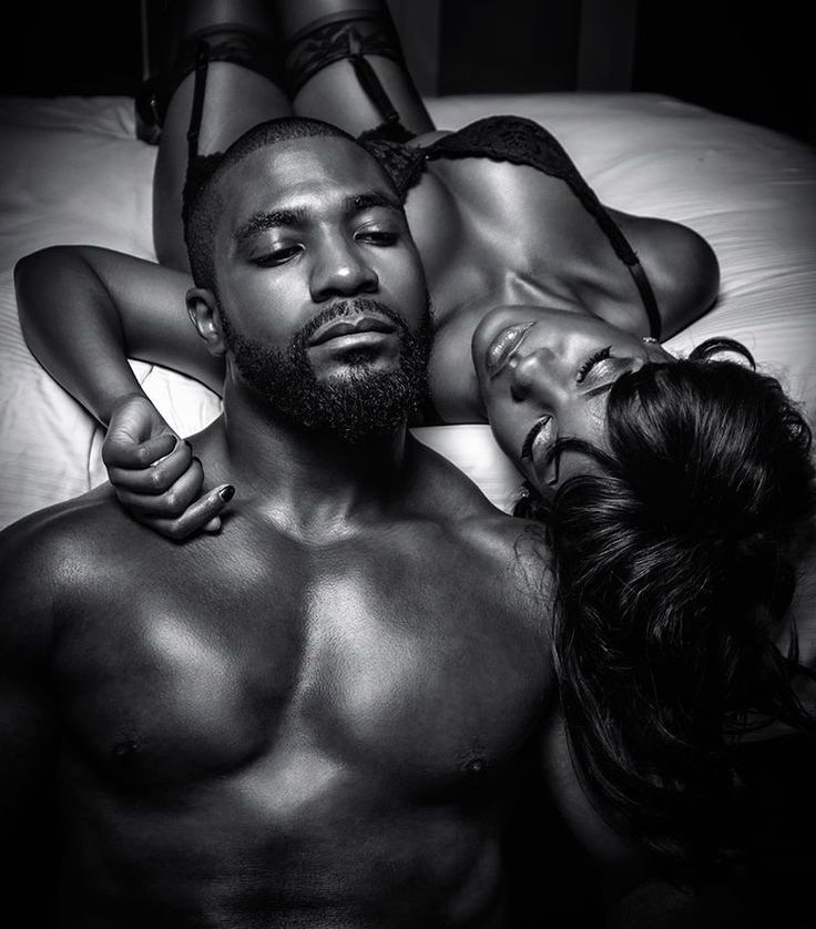 Black white and couples sensual