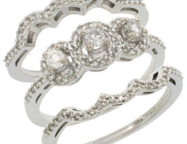 3 Piece Engagement Ring - Photo Credit