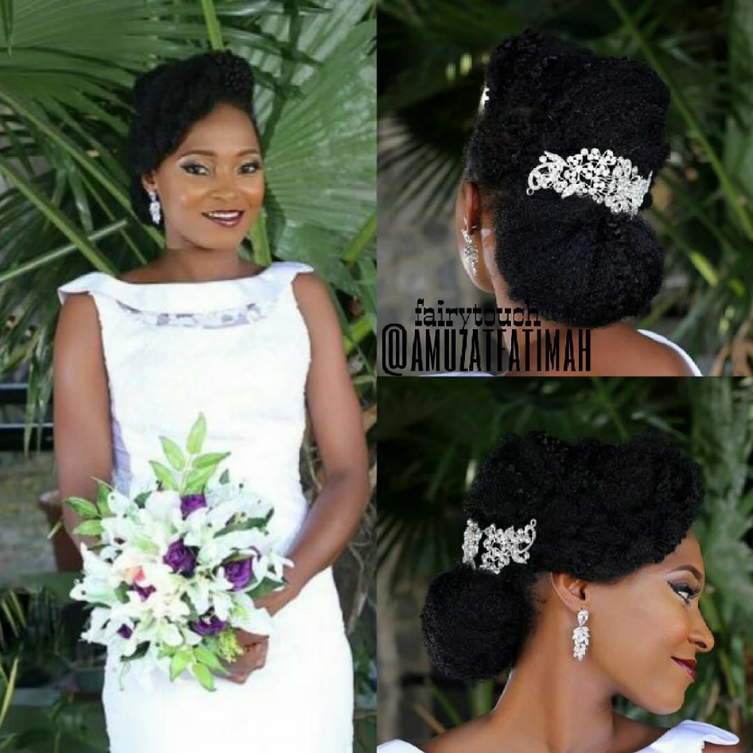 6 classy natural hairstyles for nigerian brides kamdora natural hairstyles ombrellifo Choice Image