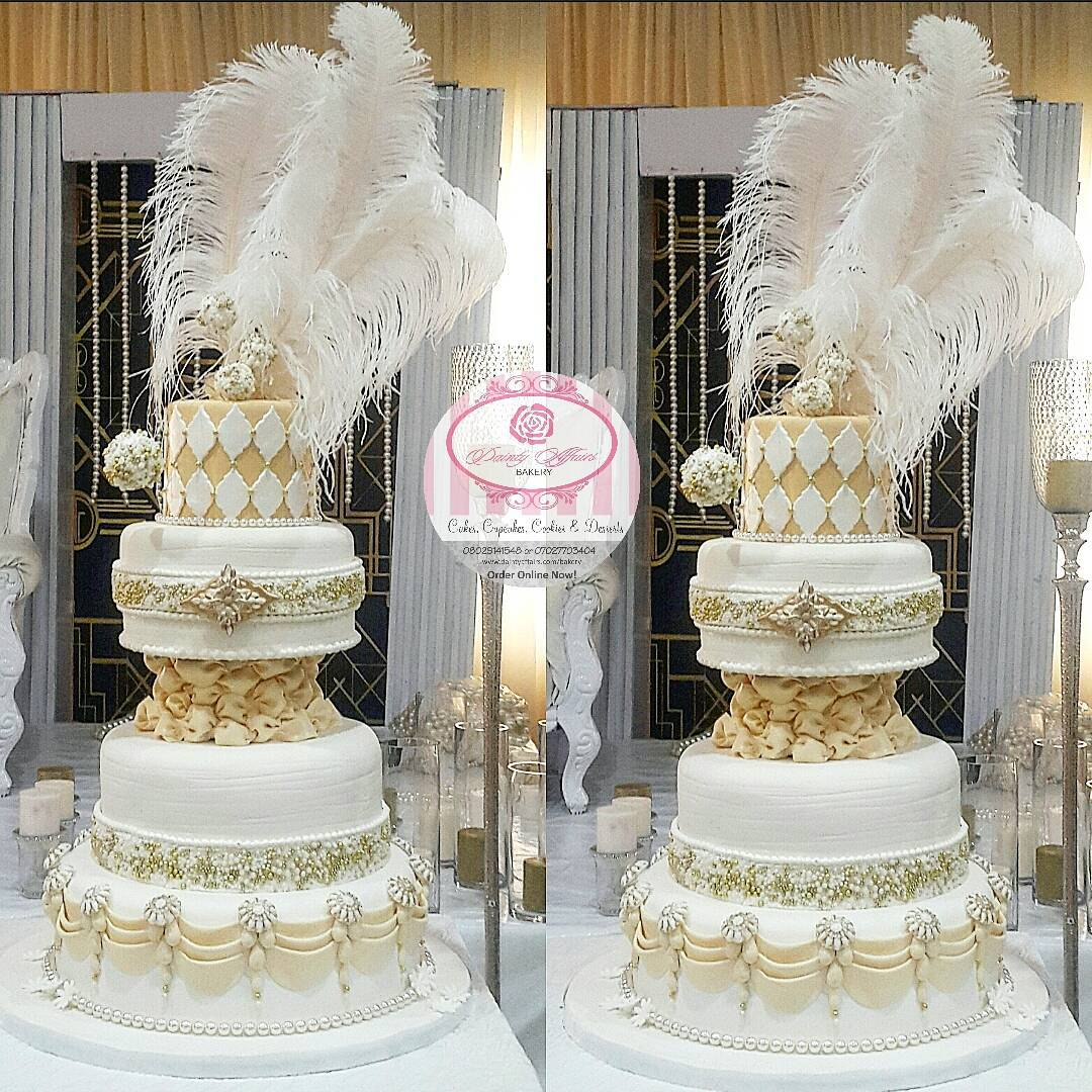 latest nigeria wedding cakes 25 modern wedding cake designed by baker dainty 16734
