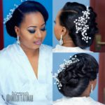 16 Gorgeous Wedding Hairstyles For Nigerian Brides By Hair Stylist Amuzat fatimah of Fairytouch Salon!
